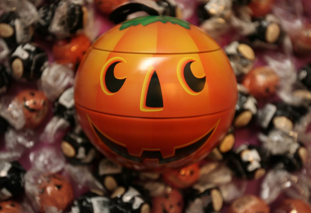 trick-or-treat- Halloween candy