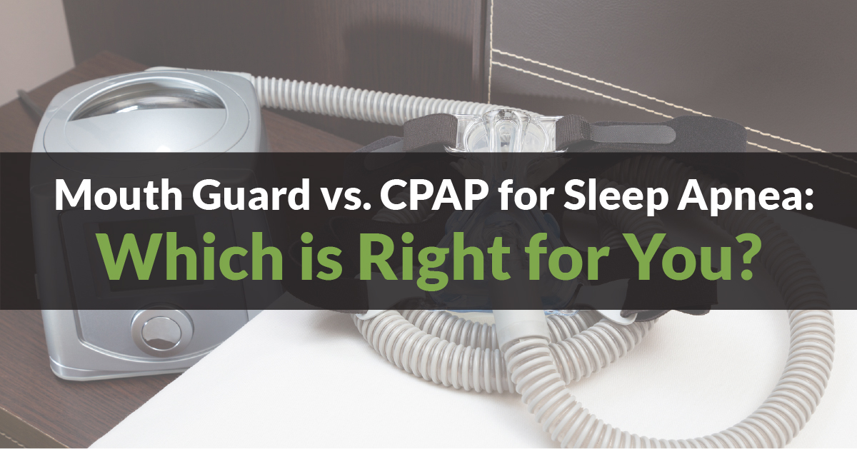 Mouth Devices vs  CPAP for Sleep Apnea - Which is Right for